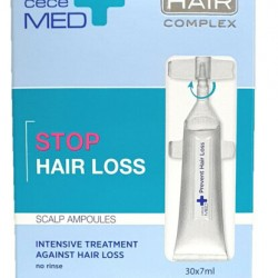Cece MED Stop Hair Loss Scalp Ampoules Saç Dökülmesine Karşı Ampuller 30x7ml
