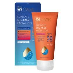 Dead Sea Spa Magik Sunsafe Oil-Free Facial Gel SPF 50+ 50ml