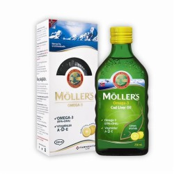 Möller's Omega 3 Doğal Limon Aromalı 250ml