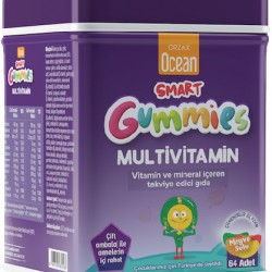 Orzax Ocean Smart Gummies Multivitamin 64 Adet