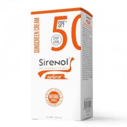Sirenol Doğal Cadı Fındığı SPF 50 Mineral Güneş Kremi 60 ml