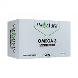 VeNatura Omega 3 Takviye Edici Gıda 50 Kapsül